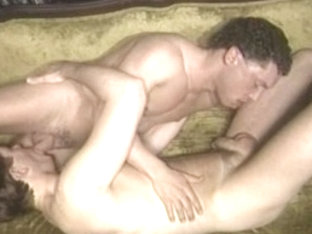 Incredible male pornstar in fabulous rimming, vintage homo sex video