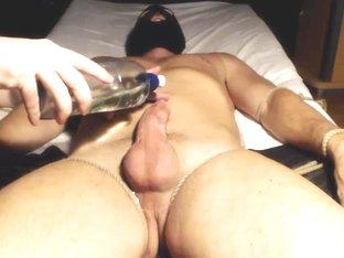 Me milk a studs huge cock - post cum tease
