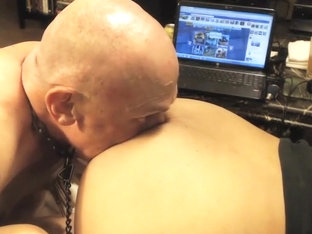 Slave Rimming Hot Young Latino Ass #2