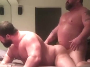 Beefy guys in action first 2 min no sound