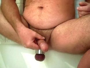 Sound-cum-piss through PA-Hole