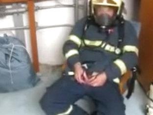 Fireman cook jerking