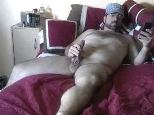 Native American sucks Big White bear cock