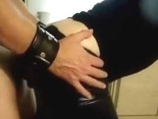 Cockrings and leather pants!!