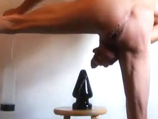 Bizarre Dick Pump, Butt Fist and Massive Sextoy Pleasure