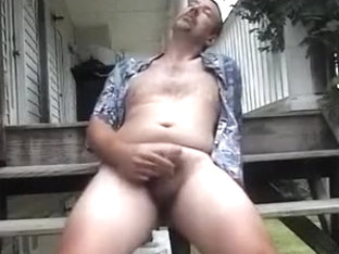 Hawaiian shirt jerk-off...