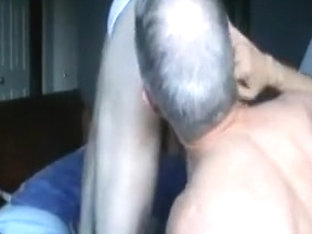 Married fella takes a load up his ass