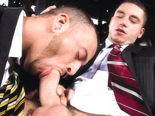 Suited For Sex XXX Video: Marc Dylan, Steve Vex