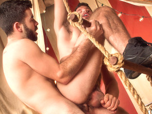 Jimmy Fanz & Josh Long in Behind The Big Top, Scene #04