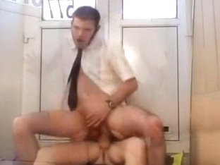 Horny male in crazy oldy, fetish gay sex video