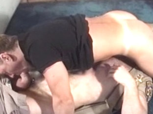 Horny male pornstar in hottest uniform, daddies homo adult clip