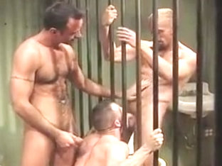 Incredible male in horny group sex, uniform homosexual adult scene
