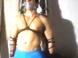 Horny male in fabulous bdsm, fetish homo adult video