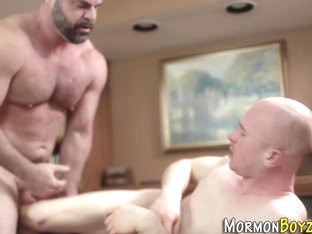 Barebacking mormon spunk
