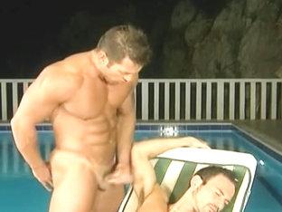 Homo spunk fountain compilation two