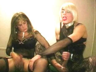 two TV bitches bareback fuck and engulf in the poolroom part two
