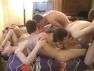 Young twink 9 boys orgy