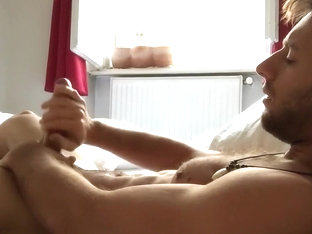 Morning Lube Sexy Austrian Guy jerks off and cums - more @ Gayboy.ca