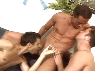 Leave Your Inhibitions at the Door: Five Man Gay Orgy!