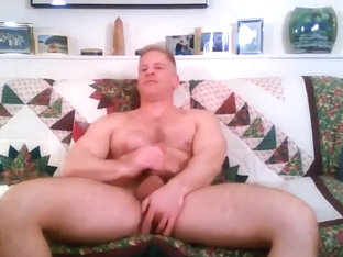 Str8 blond muscle mandy play