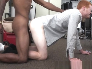 Casting straighty gets interracially banged