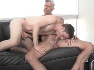 Nervous groom gets a rough bareback pounding by stepdad