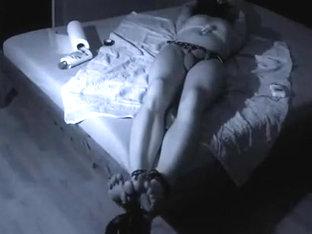 Selfbondage, Foot, Electro, BDSM