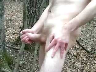 Public Jack and Cum in the Park