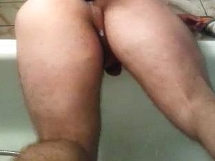 Anal gape sex toy ladyboy gaping