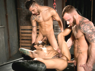 Derek Parker & FX Rijos  & Draven Torres in Under My Skin 2, Scene 01 - HotHouse