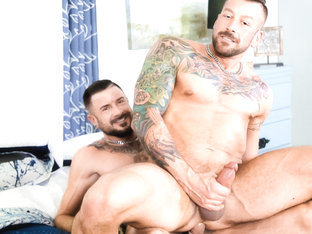 Hugh Hunter & Dolf Dietrich in Couples Fantasy: Part 1 Video - MenOver30