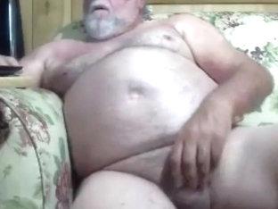 grandpa stroke on cam (no cum) 2