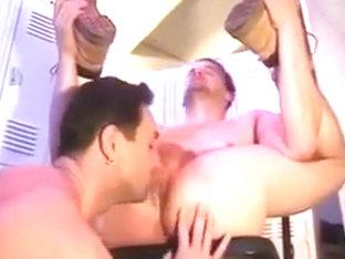 Men Fucking in Locker Room