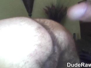 Bears hairy ass rimmed