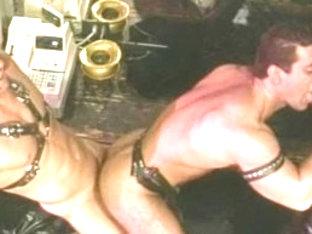 Horny male pornstars Tom Katt, Joe Magnum and Joe Romero in amazing hunks, bears homo adult video