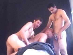 Crazy male pornstar in horny domination, blowjob homosexual adult video
