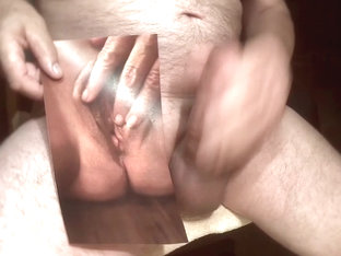 Tribute for bigsweetone - spunk flow on her open fuck hole