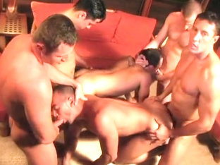 Horny homemade gay movie with Doggystyle, Group Sex scenes