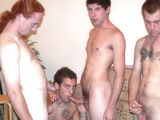 Aires & Cory Woodall & D.J. in All Positions Open Scene 4 - Bromo