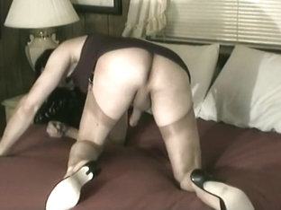 Carol C. Crossdressing Trannydick Stroking Slut
