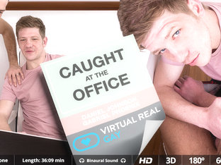Caught At The Office - Virtualrealgay