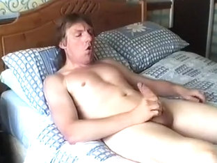 Wanking on my Bed #4