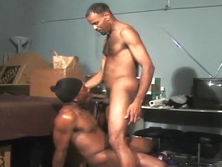 Horny Black Gay Couple Love Sucking Each Other's Dicks