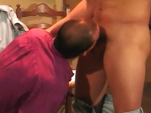Horny Tailor Sucks Off A Hot Businessman