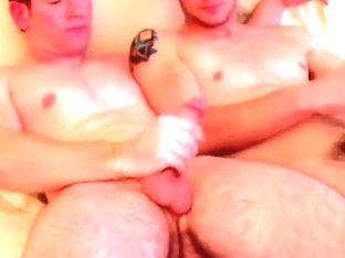 Pearly White Buttocks Split By Fat Cock