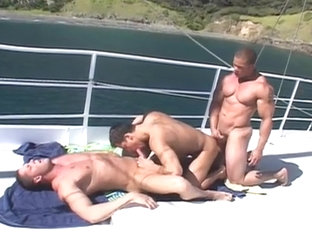 Erik Rhodes, Roman Heart and Matthew Rush Threesome