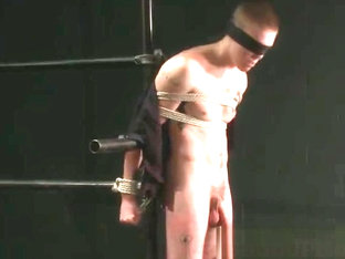 Extreme gay torture gay bondage action part4