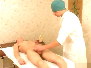 Russian boy cums in hospital
