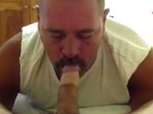 handsome mandy`s cock suck