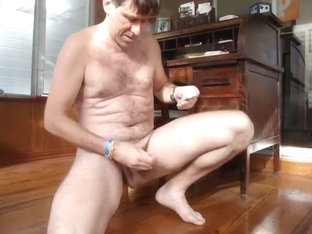8 20 15 Beating Off Hard Cum for me